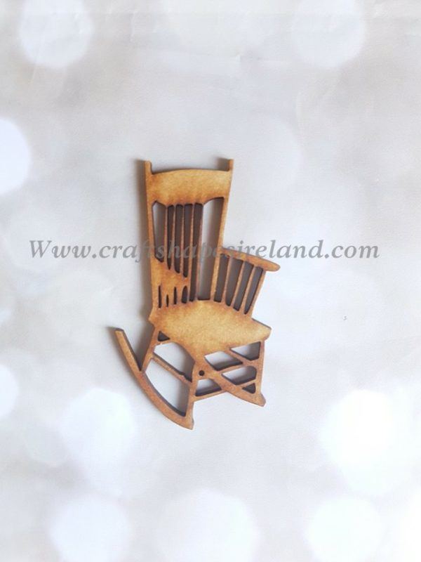 3D Effect flat rocking chair pk 5
