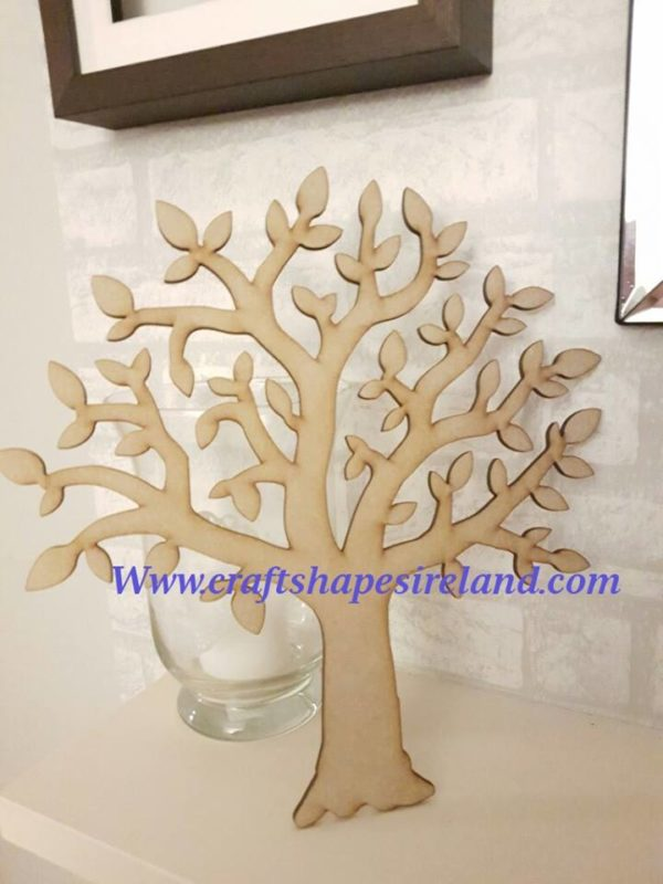 2018 Leafy tree 150mm PACK of 5***