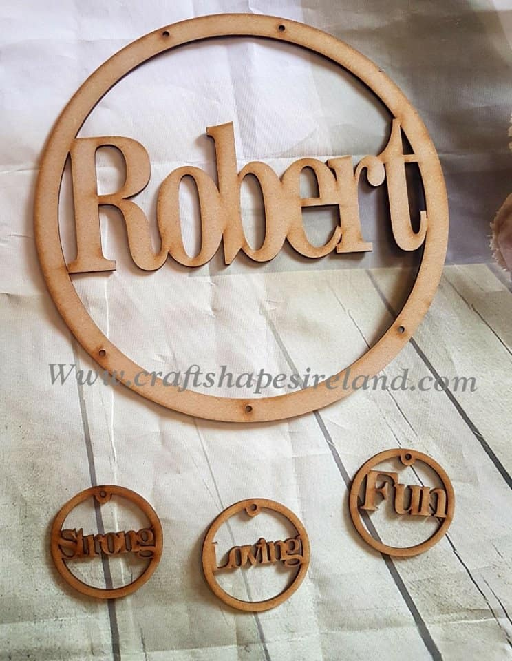 Personalised Dream Catcher Positive Words Craft Shapes Ireland Magnificent Dream Catcher Words