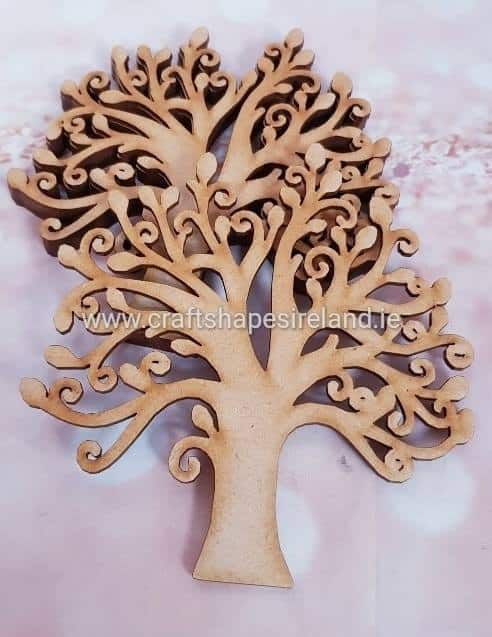 2219 Detailed Tree 150mm Single