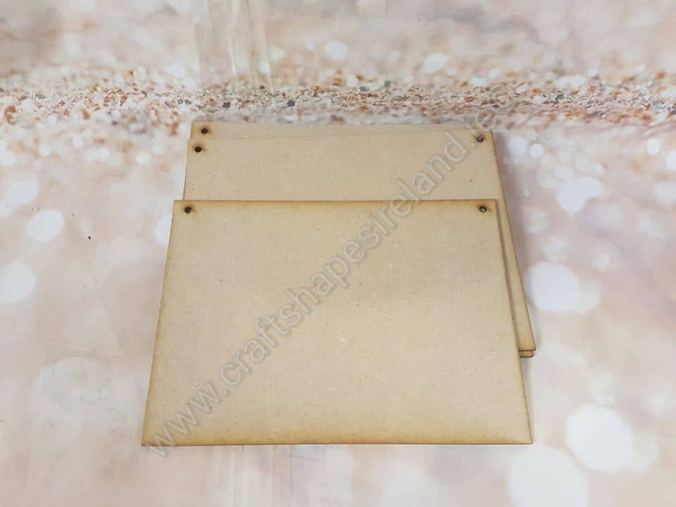 Rectangular plaque 200x150mm***