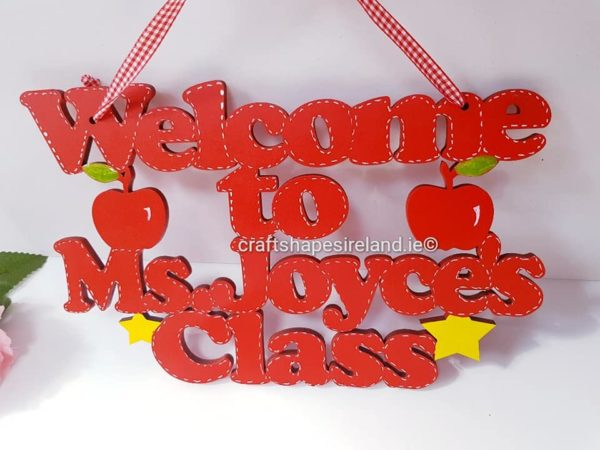 Welcome to - class name