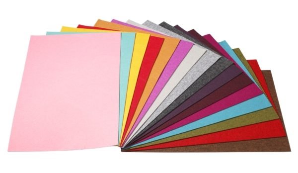 Felt Sheets 33 Colours