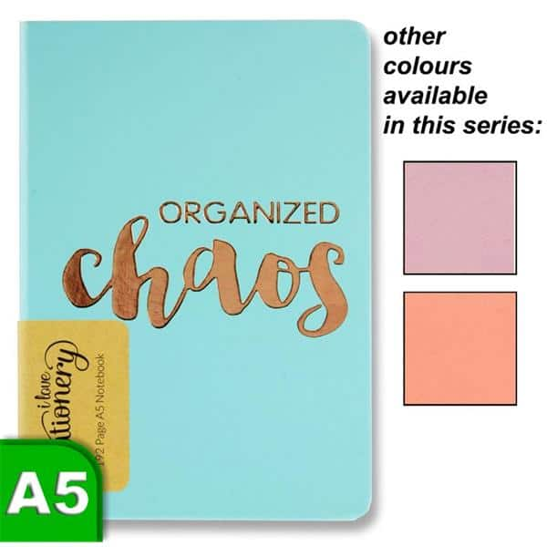 I Love Stationery A5 192pg Journal - Organised Chaos 3 Asst.