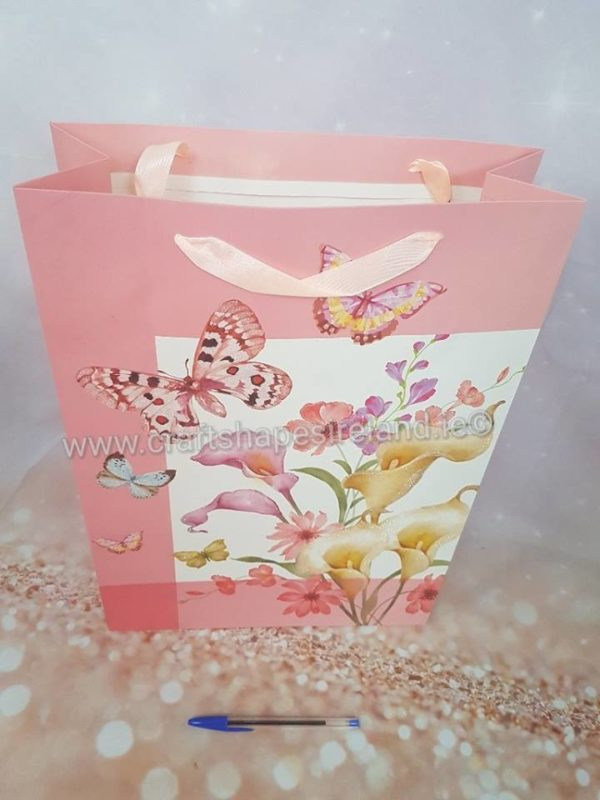 Floral bags - four different colours lg