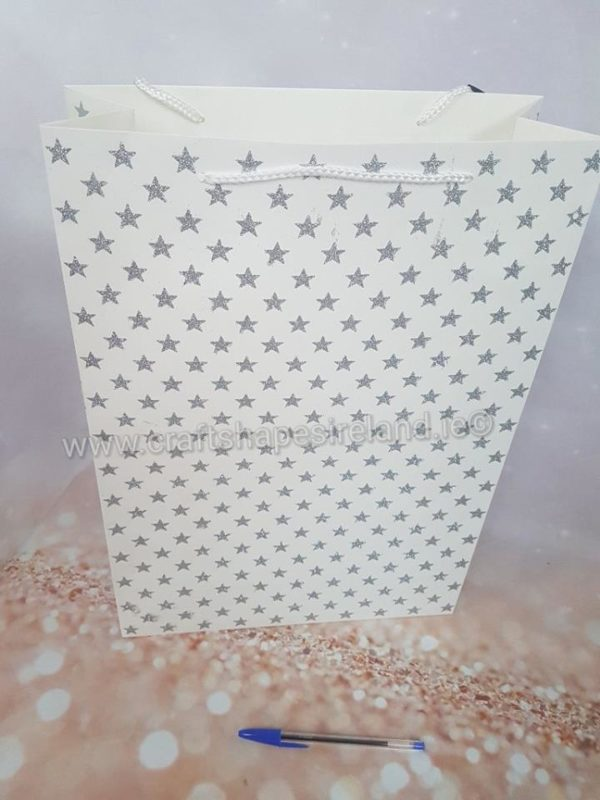 Gift Bags - Clover or Stars (lg)