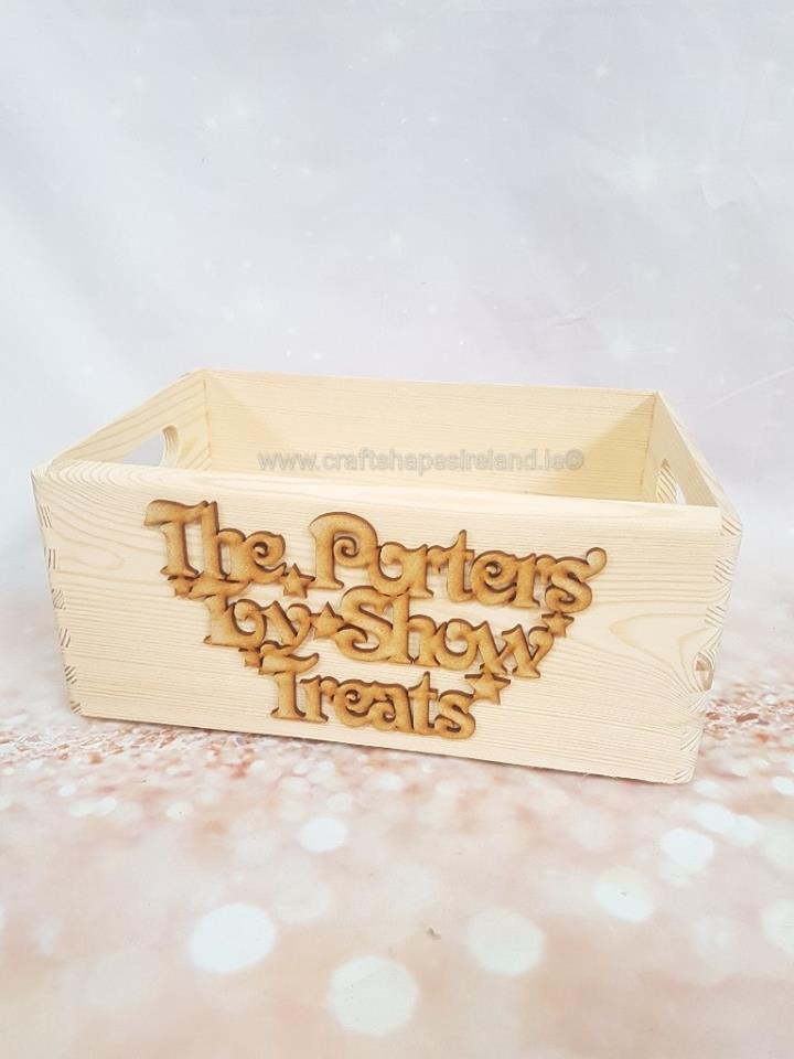 Personalised Toyshow Case and Front