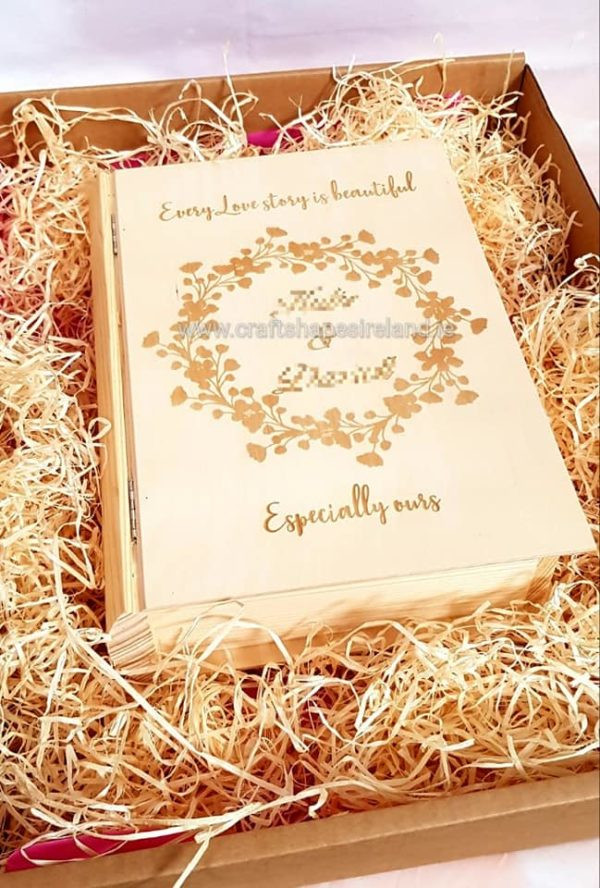 Personalised Love Story Book Box