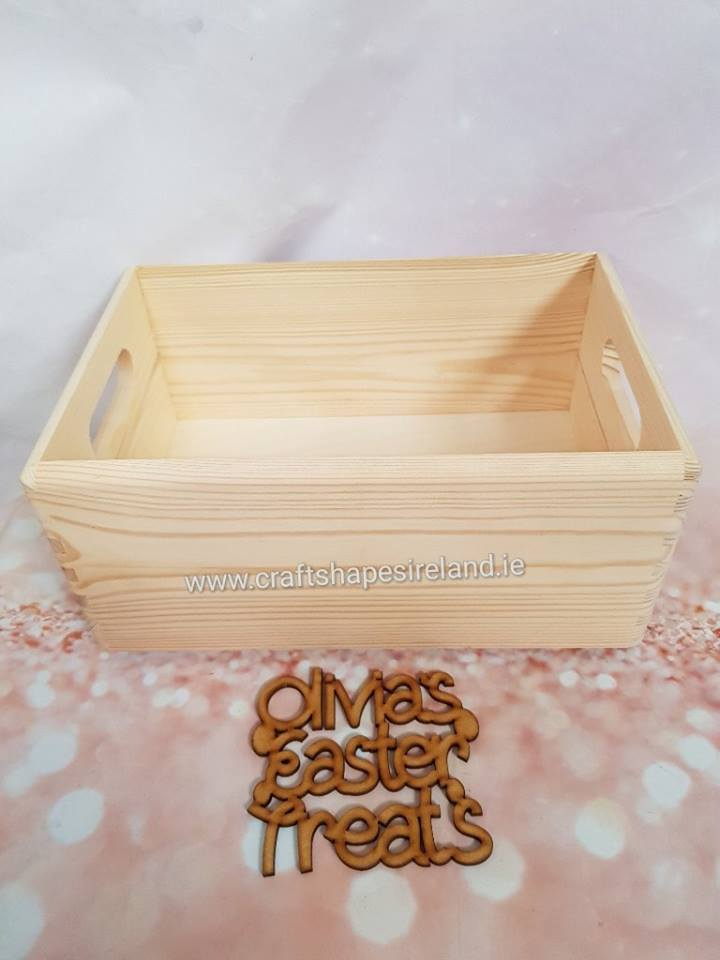 Personalised Easter Treats Case and Front
