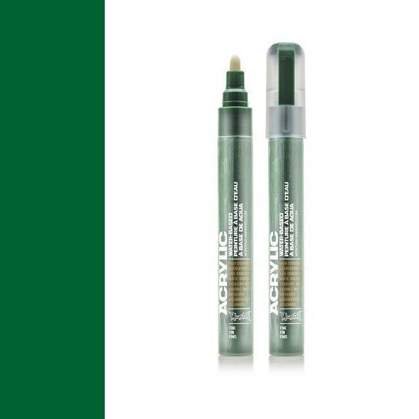 Marker Fine Shock Green Dark - 2mm
