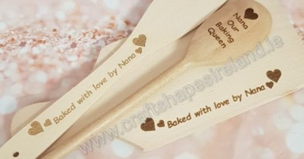 Personalised baking set - Handle
