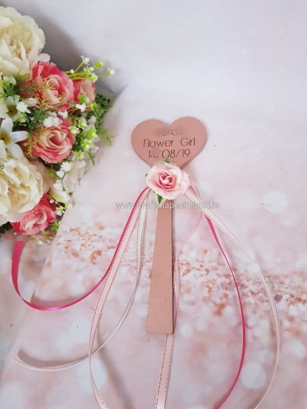 Wand - Personalised   - floral