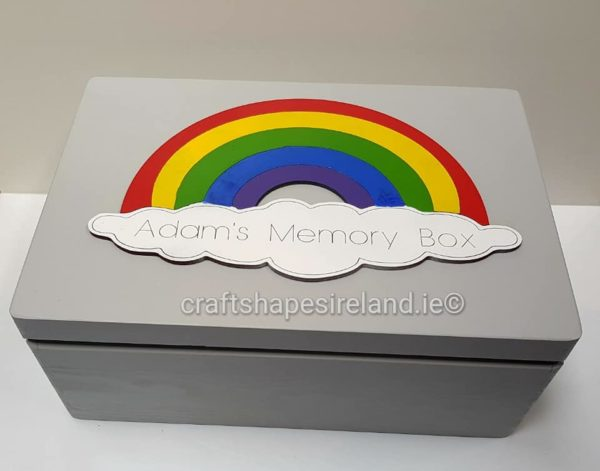 Keepsake box - Rainbow