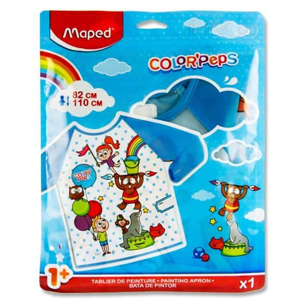Maped Color'peps Painting Apron 1-5 Yrs