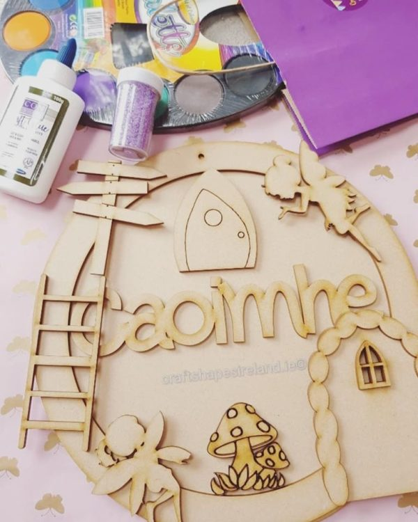 Personalised Fairy Plaque