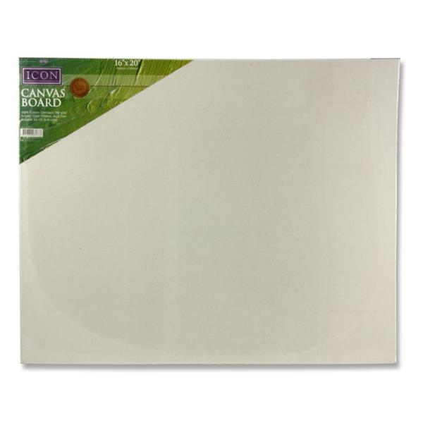 "Icon Canvas Board 380gm2 - 16""x20"""