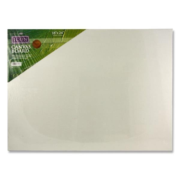 "Icon Canvas Board 380gm2 - 18""x24"""