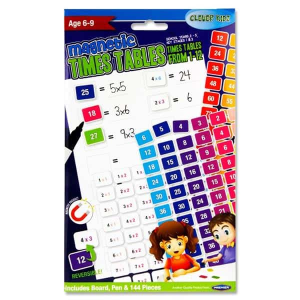 Magnetic Time Tables Set