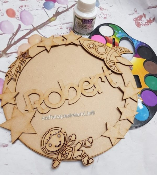 Personalised Space Plaque