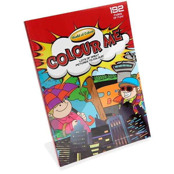 Woc A4 192Pg Colour Me Perforated Colouring Book