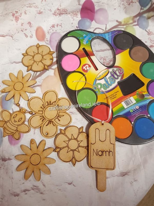 Flowers and Bee craft set