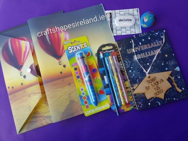 6th Class Graduation goodie bag- personalised