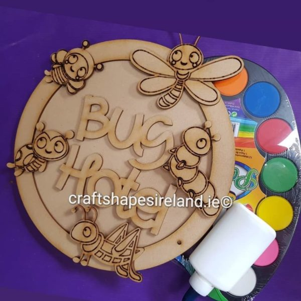 Personalised Bug Insect Plaque