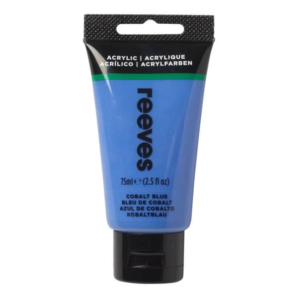 Cobalt Blue - Fine Acrylic - 75ml - Reeves