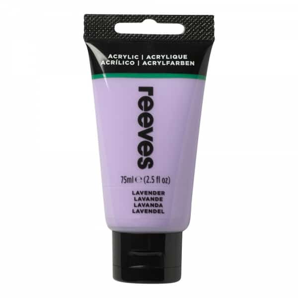 Lavender - Fine Acrylic - 75ml - Reeves