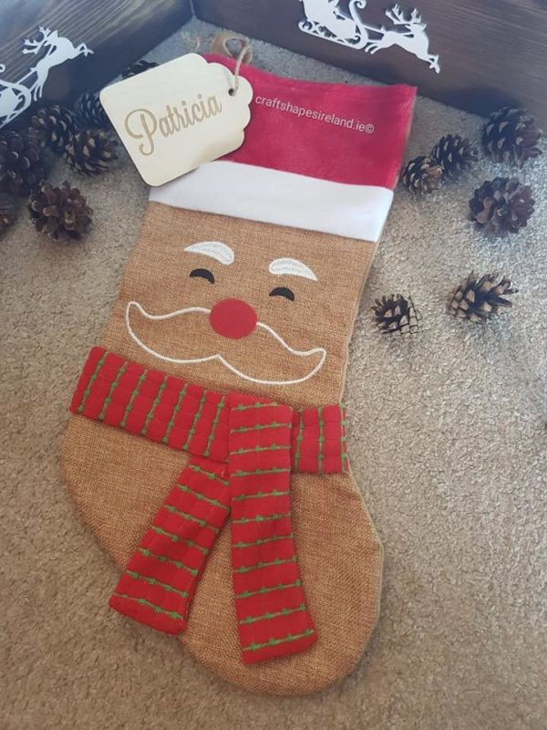 Personalised Character Stocking - Santa