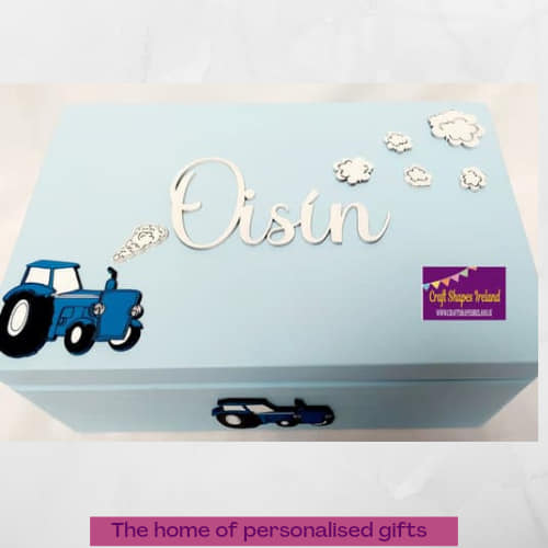Baby box, tractor