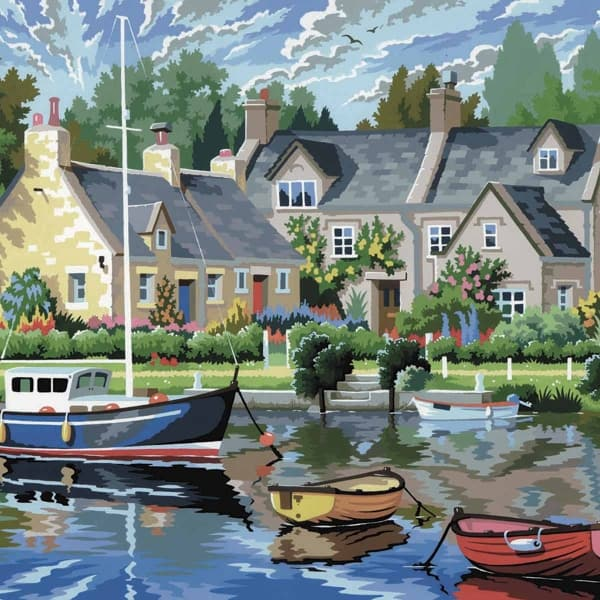 Tranquil Waters - Large Paint By Numbers