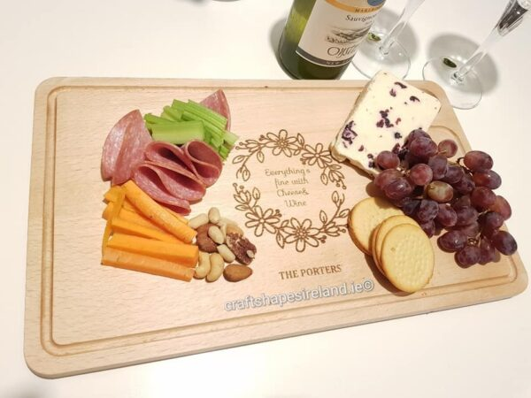 Personalised Gastro chopping board/Platter - free text
