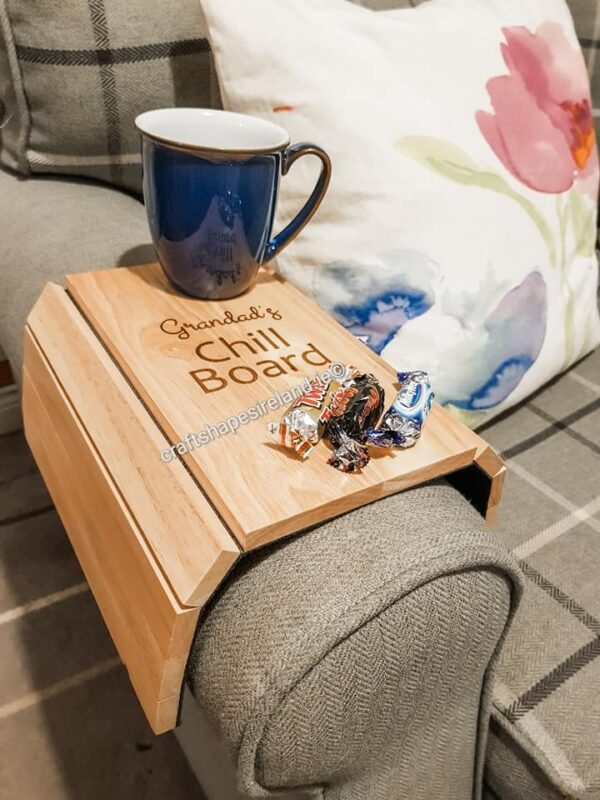 Flexible sofa tray - Tea-riffic