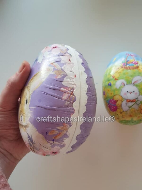 Personalised Easter Craft Egg Large