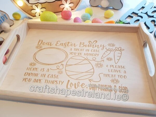 Personalised Easter Tray