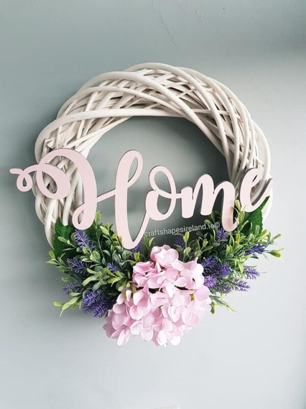 """Provence"" Floral wreath"