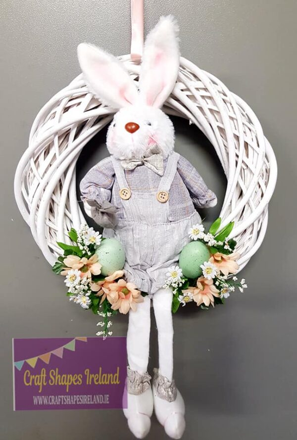 """Arnold"" Easter Wreath (Ready to ship)"