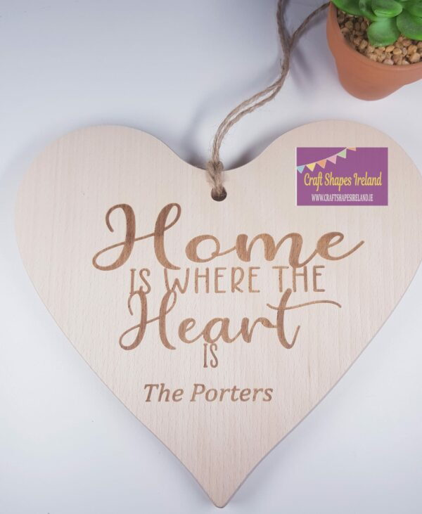 Personalised Home is where the heart is