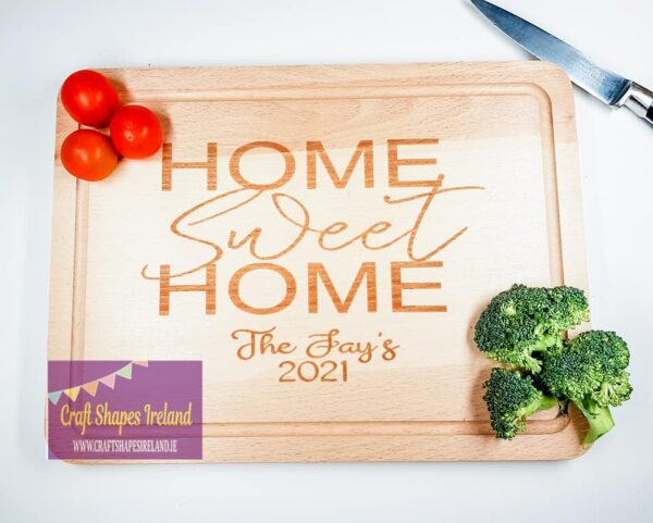 Personalised chopping board - Home