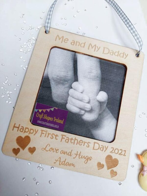 Fathers day Frame effect decoration - fully customisable