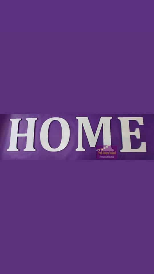 HOME - All letters - colour choice