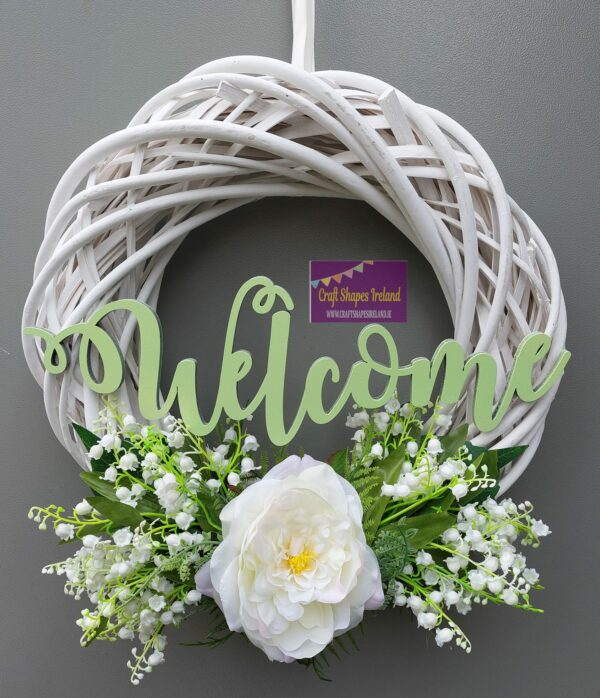"""""""Lily"""" Floral wreath"""
