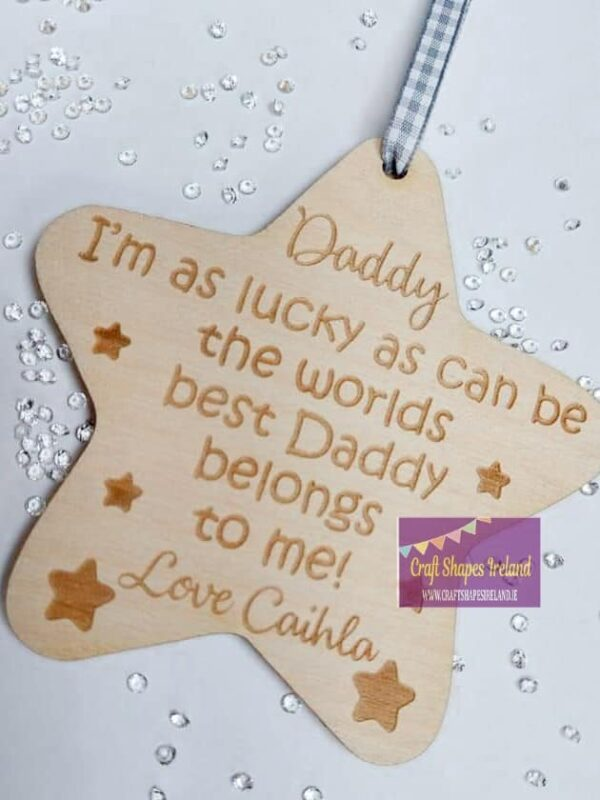 Personalised Lucky Star - customisable