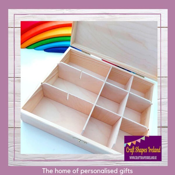Sorting Box 12 compartments Clasp