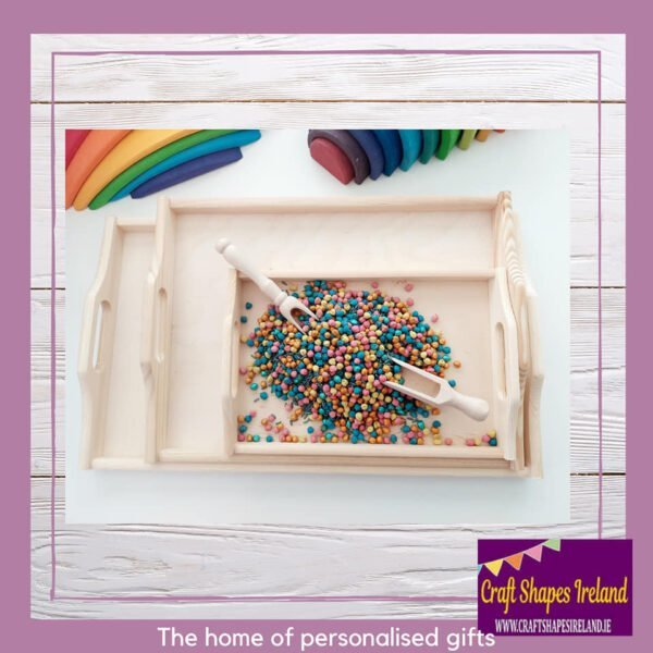 Play tray - various sizes