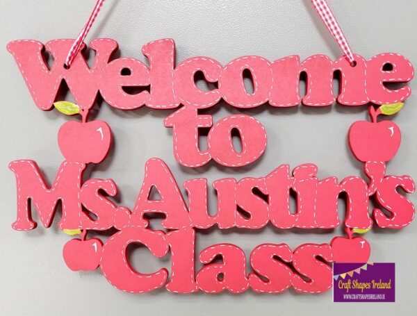 Welcome to - class name apples